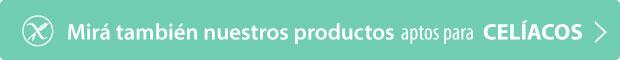 Mirá también nuestros productos aptos para CELÍACOS